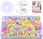 SUNNYPIG Jewelry Making Craft Beads Kits for Kids Girls- Best Christmas