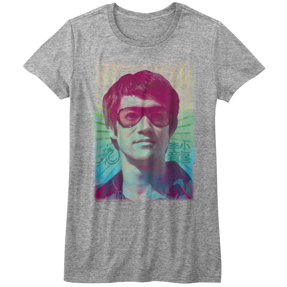 Womens Rainbow T-Shirt Bruce Lee
