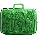 Bombata Medio Cocco Laptop Bag 13'' (Emerald Green)