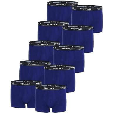 28098724f06fd0 ROYALZ Boxershorts (10 Stück) Herren Unterwäsche Set Unterhosen 95%  Baumwolle 5% Elasthan