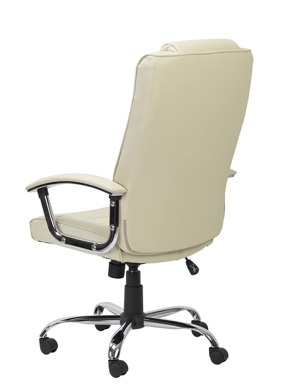 Alfason stol Modern 1000x660x650mm Svart Grädde