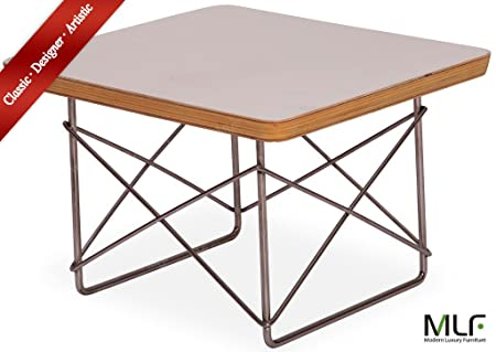 Mlf reproduction eames wire base low table laminated plywood smooth mlf reproduction eames wire base low table laminated plywood smooth top stainless steel rod keyboard keysfo Images