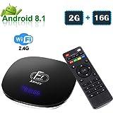 Sawpy A95XF1 Android TV Box 2GB +16GB Android 8.1 4K Smart TV Box 64bit Quad-core Cortex-A53