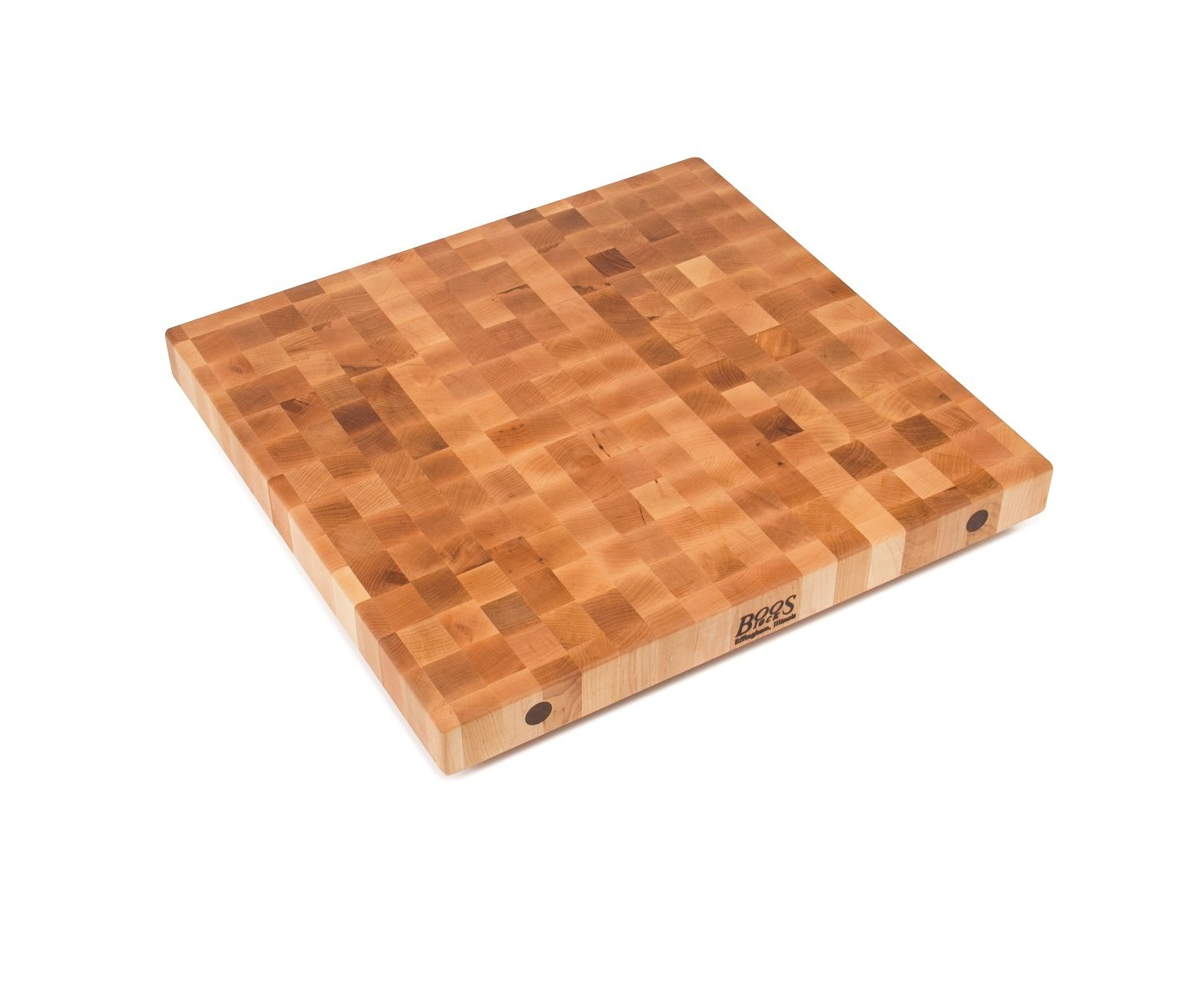 John Boos BBIT36272 End Grain Butcher Block Island Top 36 x 27 x 2.25'' Maple Wood