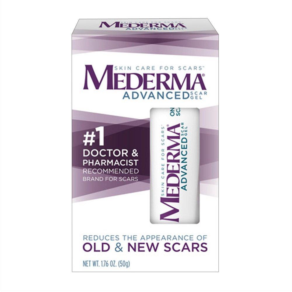 Amazon Com Mederma Advanced Scar Gel 50 G Pack Of 4 Scar