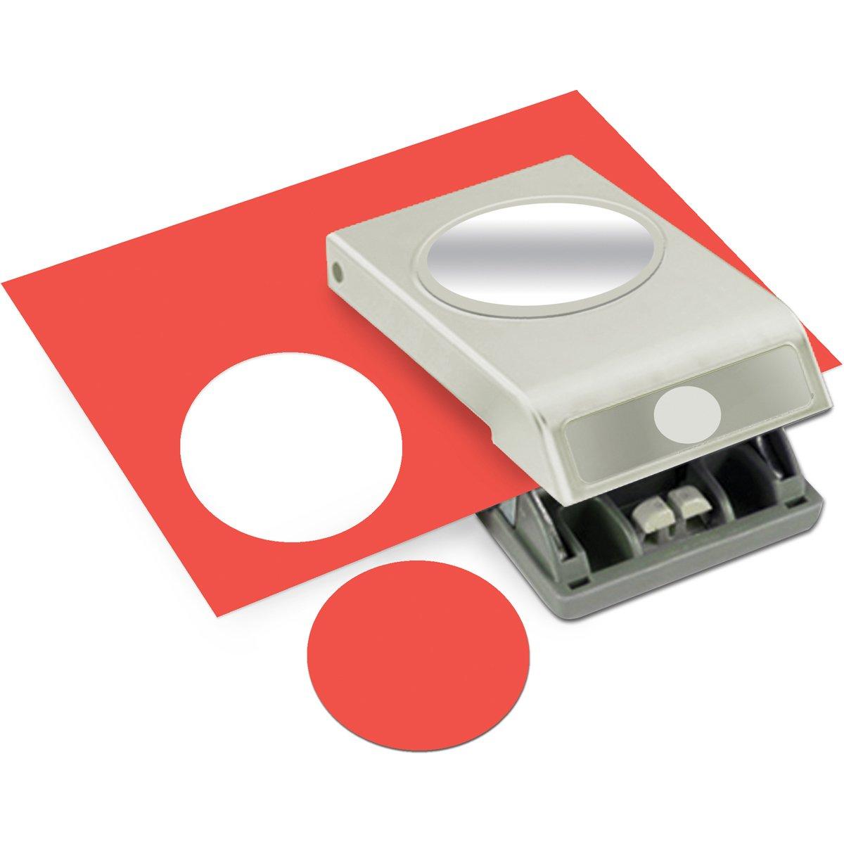 Ek Tools Perforador De Papel Circular De 63mm De Diametro