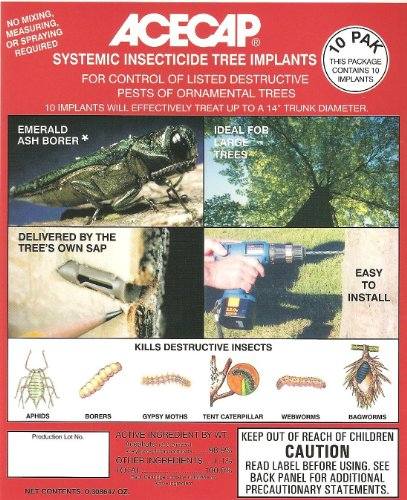 (Medicap Acecap AC1210 Systemic Insecticide Tree Implants, Pack of)