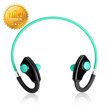 Auriculares Deportivos Levin Bluetooth 4.0 Casco Inalámbrico Wireless Headphone Bluetooth Estereo Manos Libres Deporte Running Neckband para iPhone Móvil ...