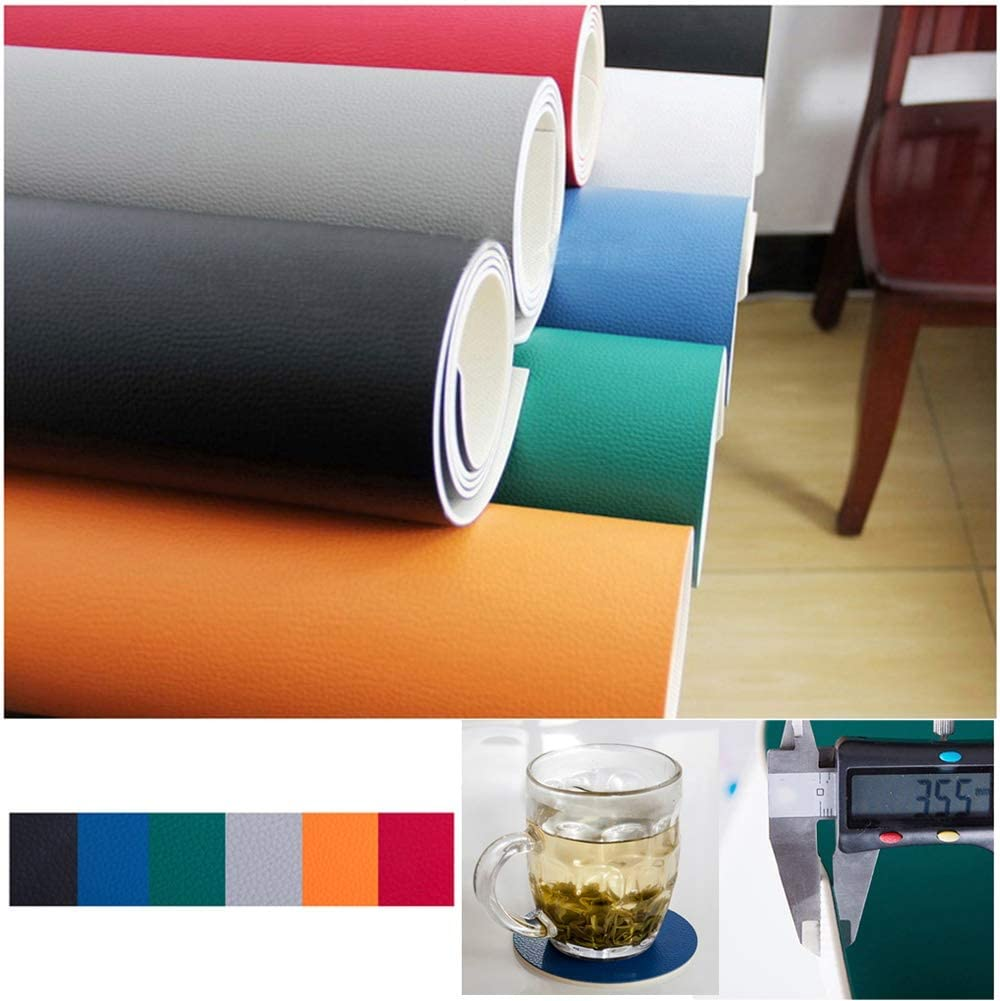 Color : Black, Size : 60x90cm Table Protector Desk Mat Computer 3.5mm Mouse Pad Flame Retardant Wear Resistant 3 Colors,Customizable Size ALGFree