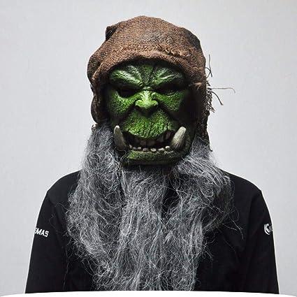LLWGNZM Mascara-Máscara de Halloween máscara del Mundo de los ...