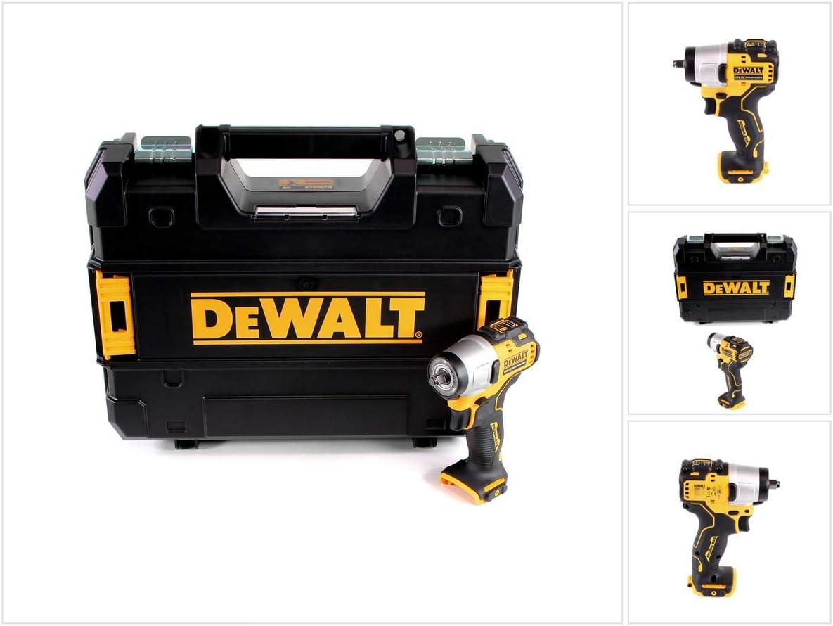 DeWalt DCF 902 NT - Atornillador de impacto inalámbrico (12 V, 168 Nm, incluye maletín)