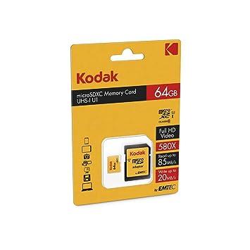 Amazon.com: Kodak tarjeta de memoria SDHC (32 GB, clase 10 ...