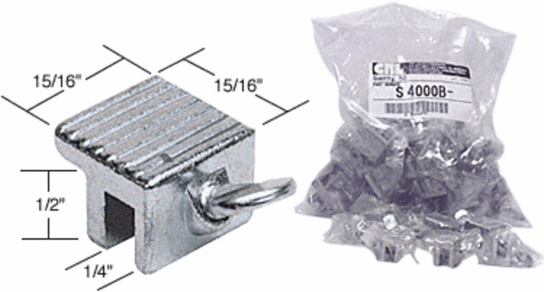 Window Thumbscrew Lock, Aluminum - Bulk Pack of 50