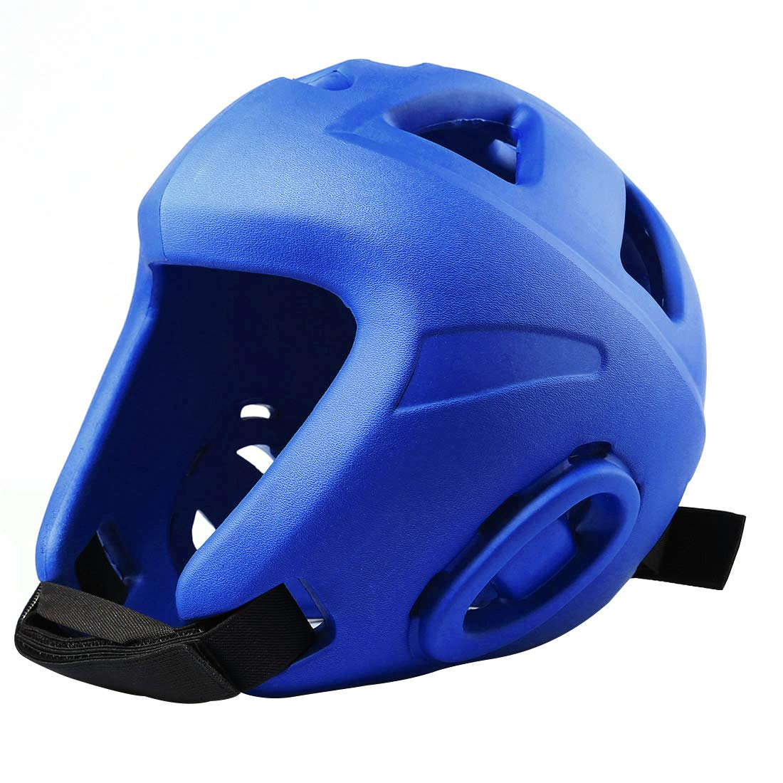 Haoun Head Protection Helmet, EVA Boxing Headgear MMA Protector UFC Fighting Helmet - Blue,M
