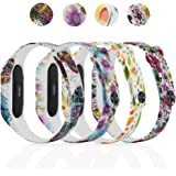 honecumi Replacement Band for Xiaomi Band 2 Bands Wristband Xiao mi 2 Watch Strap/Band/Bracelet for Men & Women-Colorful Bands for Xiao Mi Band 2 Wristband Replacement Accessory (No Tracker)