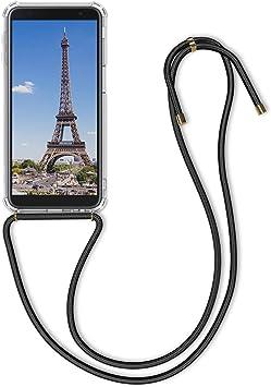 kwmobile Funda con Cuerda Compatible con Samsung Galaxy J6+ / J6 Plus DUOS: Amazon.es: Electrónica