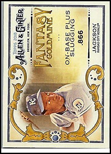 2018 Topps Allen and Ginter Fantasy Goldmine #FG-6 Bo Jackson Royals Baseball Card NM-MT