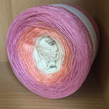 Bobbelmaniacs Farbverlaufsgarn Bobbel Wolle Häkeln 200 Gramm Farbe