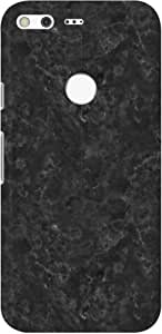 Stylizedd Google Pixel XL Slim Snap Basic Case Cover Matte Finish - Marble Texture White