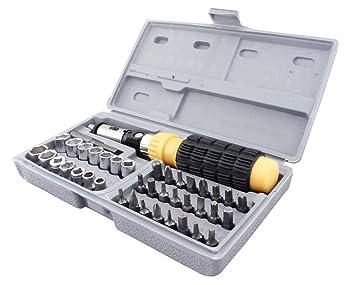 ASRAW Iron Bit and Socket Set-41 Piece