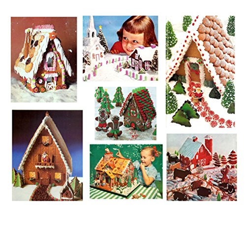 Retro Recipes Gingerbread Houses and Cookies