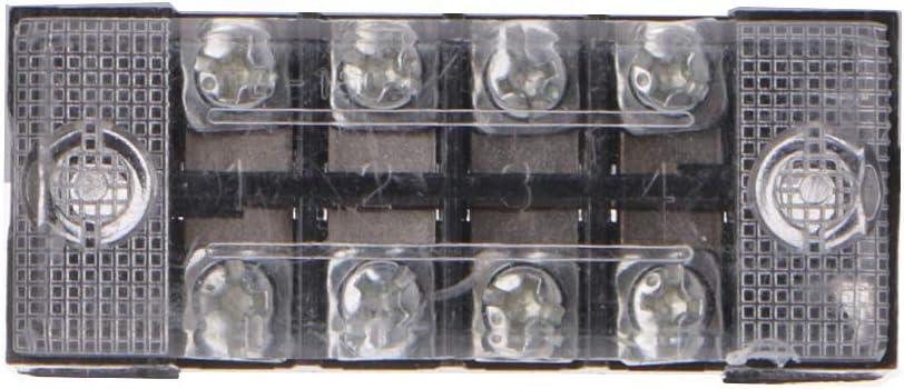 fivekim 600 V 15A 3 4 6 8 10 12 Positions Double rang/ée Barri/ère Vis Bornier Bornier Fil Connecteur Ignifuge Cuivre Bo/îte de Jonction