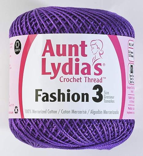 Amazoncom Coats Crochet 182 871 Aunt Lydias Fashion Crochet
