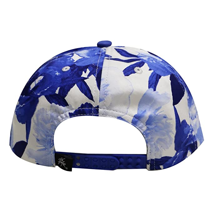 City Hunter Cf2121 Water Flower Snapback Cap - Royal  Amazon.co.uk  Clothing 6f3964d52180