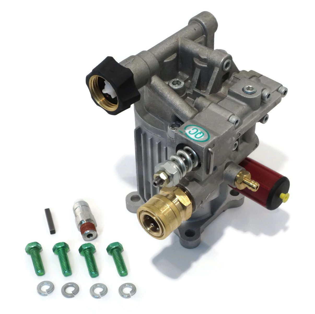 Amazon.com : New PRESSURE WASHER PUMP KIT Replaces A14292 Fits Honda Excell  FULL ONE YEAR WARRANTY - Includes thermal relief valve and engine shaft key  ...