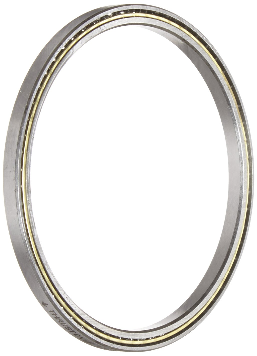 RBC KB025AR0 Thin Section Ball Bearing 2.5 Bore x 3.125 OD x 0.312 Width Angular A-Type Unsealed
