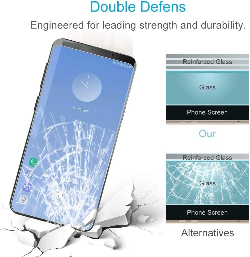100 PCS 0.26mm 9H 2.5D Explosion-Proof Tempered Glass Film for Galaxy S10 Screen Fingerprint Unlocking is Not Supported Tempered Glass Film XHC Screen Protector