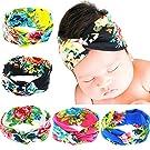 Quest Sweet Baby Girl Multicolor Hair Hoops Headbands,Solid Bunny Ears,Bow Headbands(5-8 Pack)