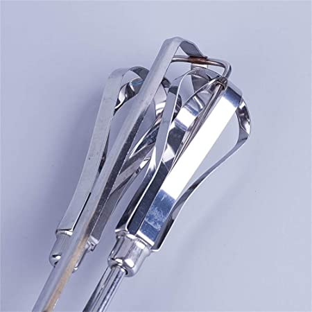 Amazon.com: Gessppo Stainless Steel Egg Beater Hand Whisk Rotary Kitchen Bake Tool Hand Mixer for Paste Cream Cake Mixer Blender: Kitchen & Dining