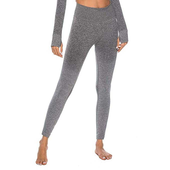 FRAUIT Pantalon Yoga Mujeres Entrenamiento Tie Dye Imprimir ...