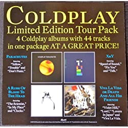 Coldplay - Limited Edition Tour Pack - Rare Advertising Poster - 12x12