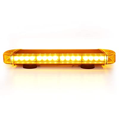 Auxbeam 21 Inch Led Emergency Strobe Light Hazard Warning Security Light bar for Cars and Trucks: Automotive