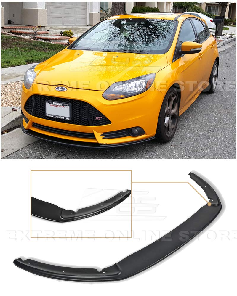 For 12 14 Ford Focus St Mk3 Front Bumper Add On Bottom Line