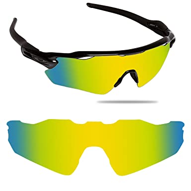 fed17c55e0 Image Unavailable. Image not available for. Color  Fiskr Anti-saltwater Polarized  Replacement Lenses for Oakley Radar EV Path Sunglasses