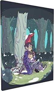 Diamond Painting The Lost Garden Boys - Over The Garden Wall_ Canvas Prints Embroidery Cross Stitch Art Crafts Poster