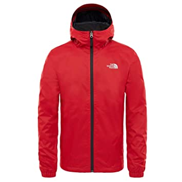 The North Face Quest Chaqueta, Hombre, Rage Red Black Heather, 2XL