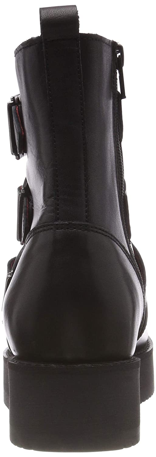 Buffalo Damen Wax Nappa Leather Leather Leather Stiefeletten eb3b42