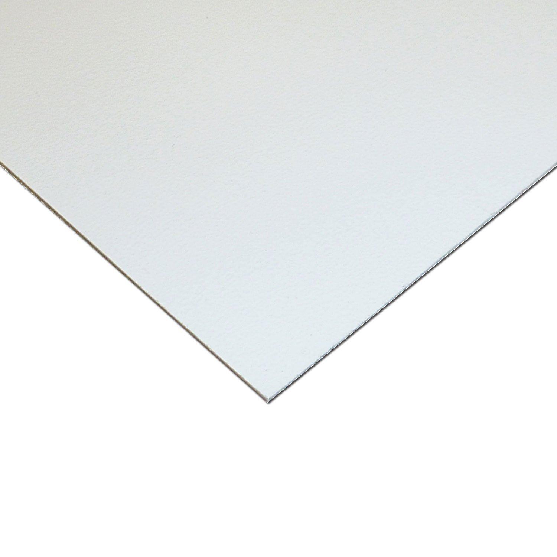 """WHITE STYRENE POLYSTYRENE PLASTIC SHEET .020/"""" THICK 12/"""" X 48/"""""""