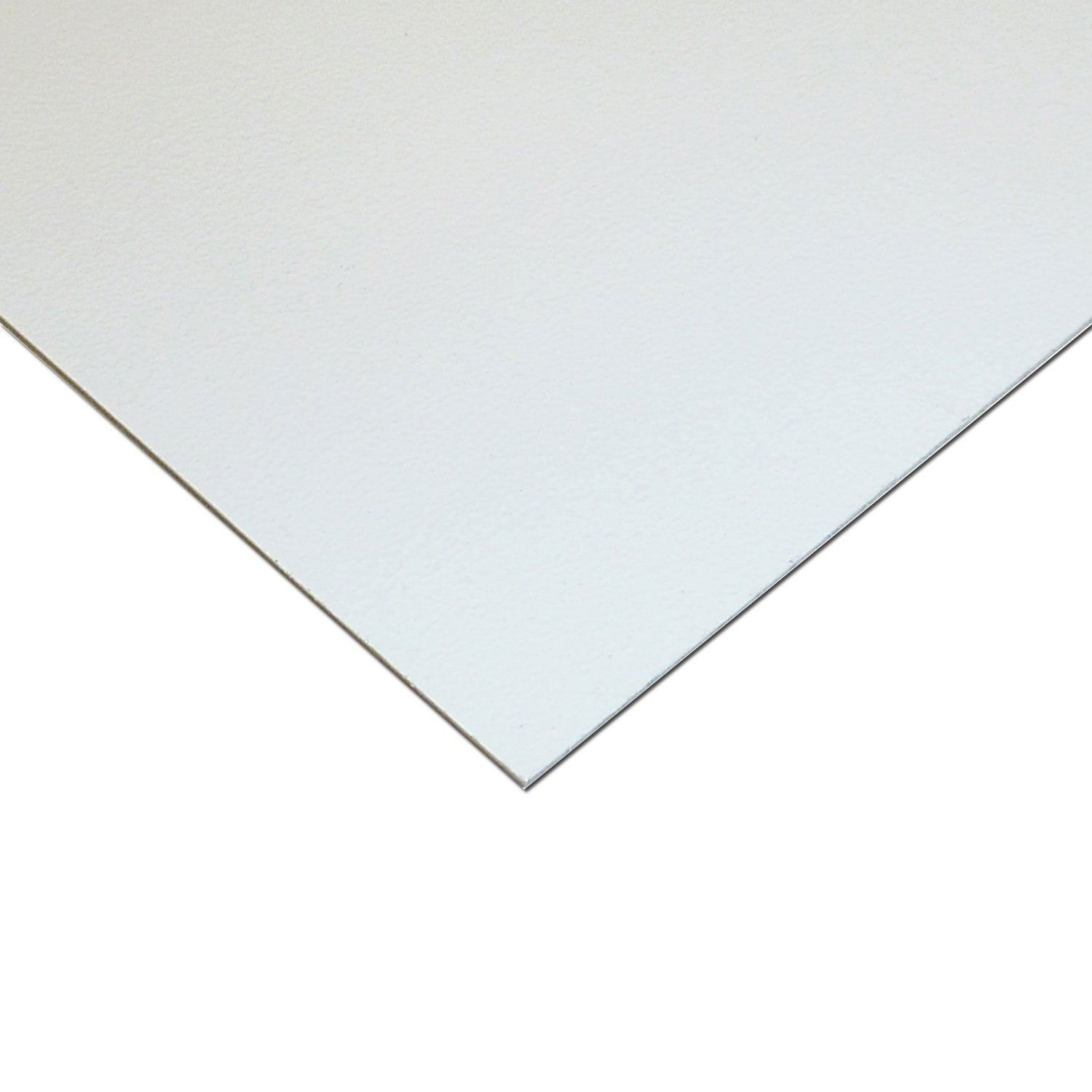 Online Plastic Supply High Impact Polystyrene Plastic Sheet .015'' x 48'' x 96'' - White