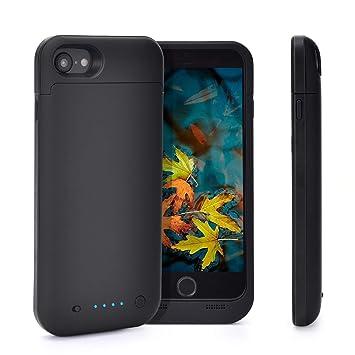 Funda de batería para iPhone 7/8, Cargador portátil de 4500 ...