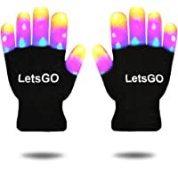 dmazing Flashing LED Light Gloves - Best Gifts for Kids