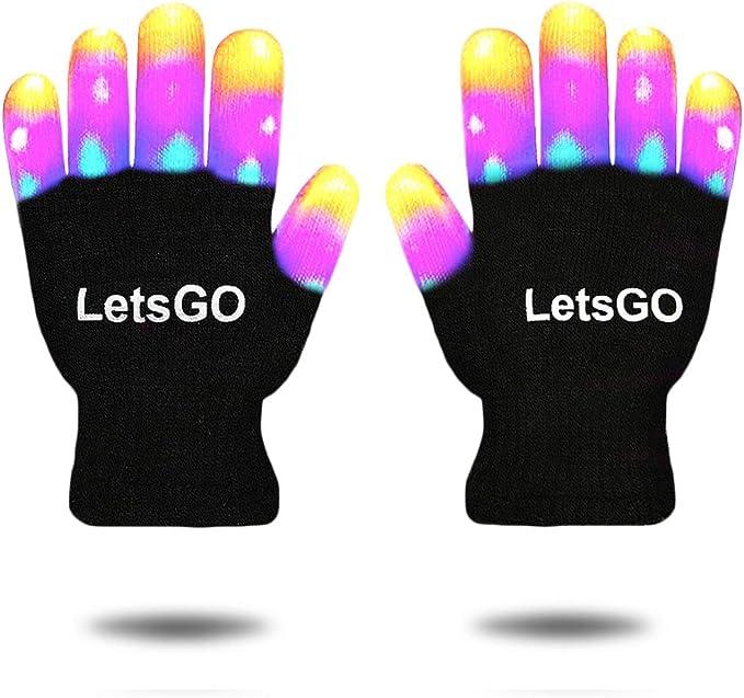 Amazon.com: My-My - Guantes de luz LED intermitentes – los ...