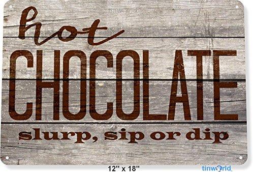 Hot Cocoa Bar - TIN SIGN 12