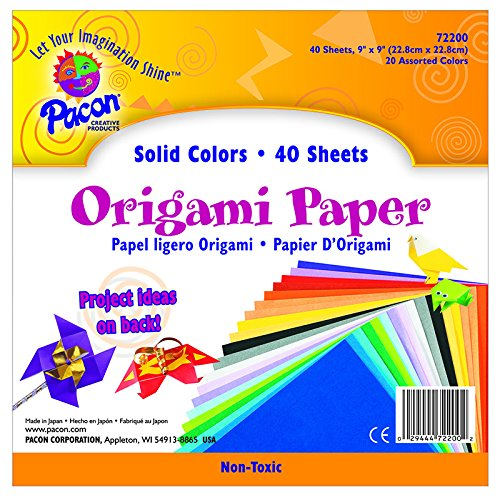 PACON CORPORATION ORIGAMI ASSORTED (Set of 12) by Pacon