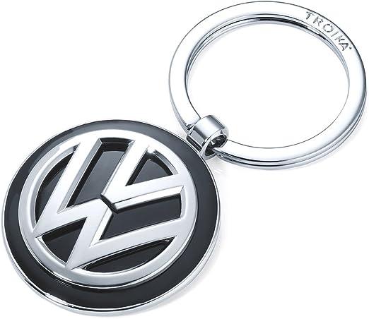 Schlüsselanhänger Keyring Kr16 05 Vw Vw Emblem 1 Schlüsselring Zusätzlich Official Licensed By Volkswagen Metallguss Glänzend Original Von Troika Koffer Rucksäcke Taschen