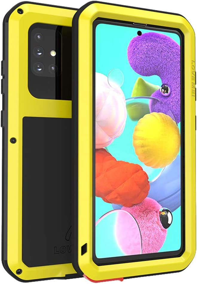 Love Mei Samsung Galaxy A51 Metall Hülle Powerful Elektronik